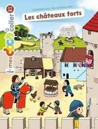 Stéphanie Ledu et Emmanuel Ristord - Les châteaux forts - Autocollants.