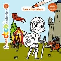 Stéphanie Ledu et Hélène Convert - Les chevaliers - Coloriage.