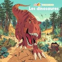 Stéphanie Ledu et Vincent Caut - Les dinosaures - Avec un poster.