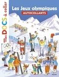 Stéphanie Ledu et Rémi Saillard - Les Jeux olympiques - Autocollants.