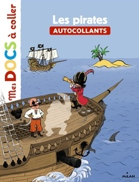 Stéphanie Ledu et Roland Garrigue - Les pirates - Autocollants.