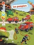 Stéphanie Ledu et Robert Barborini - Les pompiers - Autocollants.