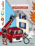 Stéphanie Ledu - Les Pompiers - Autocollants.