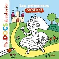 Stéphanie Ledu - Les princesses - Coloriage.