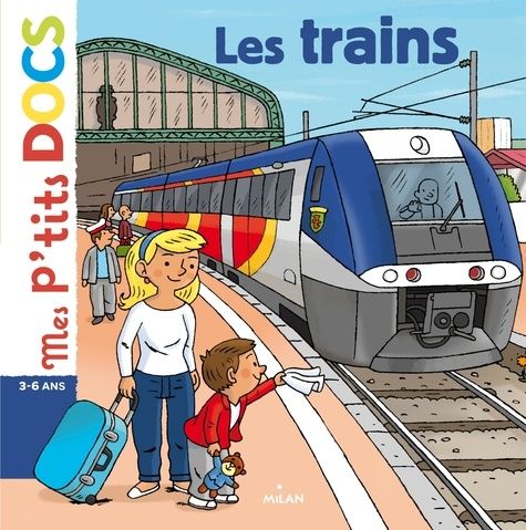 Les trains - 9782745964908 - 4,99 €