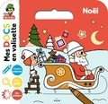Stéphanie Ledu - Noël - Avec 1 livret à colorier, 4 grandes images avec stickers, des jeux d'observation.