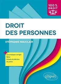 Stéphanie Mauclair - Droit des personnes.