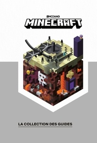 Stephanie Milton et Craig Jelley - Minecraft, la collection des guides - Le guide Nether & Ender ; Le guide Redstone ; Le guide Création ; Le guid Exploration.