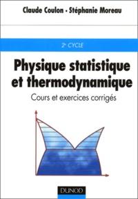 Physique statistique et thermodynamique. Cours et exercices corrigés.pdf