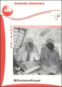 Domaine comptable Bac professionnel secrétariat 2ème année. - Corrigé.pdf