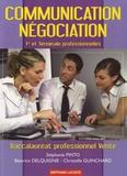 Stéphanie Pinto et Béatrice Delquignie - Communication Négociation 1e et Tle Bac pro vente.