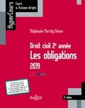 Stéphanie Porchy-Simon - Droit civil 2e année, les obligations 2019.