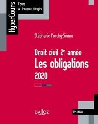 Stéphanie Porchy-Simon - Droit civil 2e année, les obligations 2020 - 12e éd. - Les obligations.