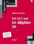 Stéphanie Porchy-Simon - Droit civil 2e année, les obligations.