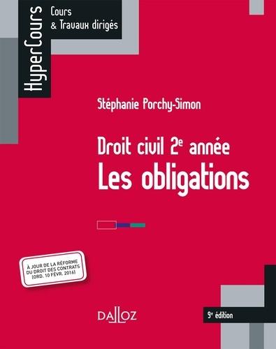 Droit civil 2e année. Les obligations 4e édition - Stéphanie Porchy-Simon