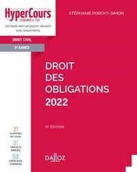 Stéphanie Porchy-Simon - Droit des obligations 2022 - 14e ed..