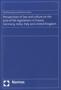 Galabria.be Perspectives of law and culture on the end-of-life legislations in France, Germany, India, Italy and United Kingdom Image