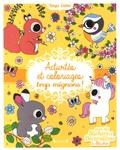Stéphanie Rousseau - Activités et coloriages trop mignons - Avec des stickers et décorations à détacher.