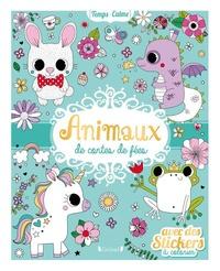 Stéphanie Rousseau - Animaux de contes de fées - Avec des stickers à colorier.
