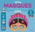 Stéphanie Rousseau - Masques de princesses du monde à décorer.