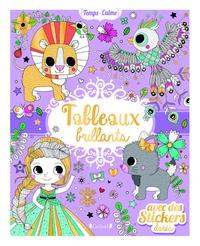 Stéphanie Rousseau - Tableaux brillants - Avec des stickers dorés.
