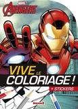 Stéphanie Sojic - Marvel Avengers Iron man - + stickers.