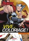 Stéphanie Sojic - Marvel Avengers Thor - + stickers.