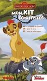 Stéphanie Sojic et  Disney - Mon kit d'activités La garde du Roi Lion - 12 crayons de couleurs, 1 bloc de jeux, 1 bloc de coloriages.