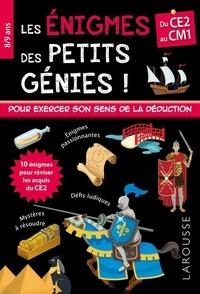 Stéphanie Viards - Les énigmes des petits génies ! Du CE2 au CM1.