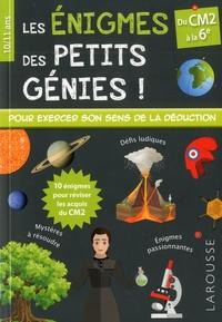 Téléchargements de podcasts gratuits Les énigmes des petits génies !  - Du CM2 à la 6e par Stéphanie Viards 9782035955678