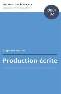 Pdf Francais Production Ecrite Delf B2