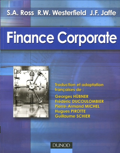 Stephen-A Ross et Randolph Westerfield - Finance Corporate.