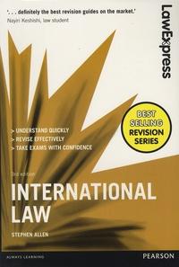 Stephen Allen - International Law.