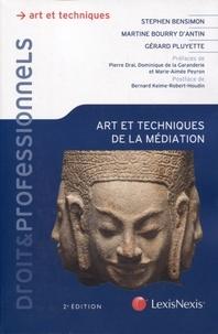 Stephen Bensimon et Martine Bourry d'Antin - Art et techniques de la médiation.