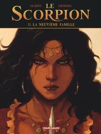 Stephen Desberg et Enrico Marini - Le Scorpion Tome 11 : La neuvième famille.