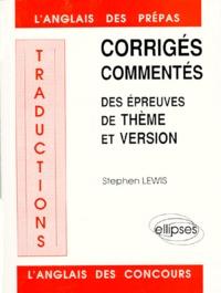 Stephen Lewis - .