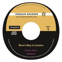 Stephen Rabley - Dino's day in London audio Cd pack ( Penguin reader easystarts ).