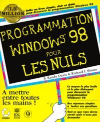 PROGRAMMATION WINDOWS 98 POUR LES NULS. Avec CD Rom.pdf