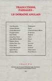 Stephen Romer - Traductions, passages : le domaine anglais.