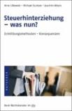 Steuerhinterziehung -was nun? - Ermittlung, Methoden, Konsequenzen.