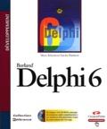 Steve Teixera et Xavier Pacheco - Delphi 6. 1 Cédérom
