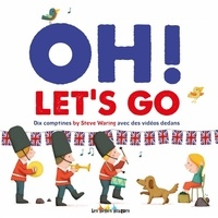 Steve Waring et Maud Legrand - Oh! Let's Go. 1 CD audio