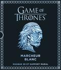 Steve Wintercroft - Game Of Thrones, Marcheur blanc - Masque 3D et support mural.