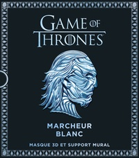 Histoiresdenlire.be Game Of Thrones, Marcheur blanc - Masque 3D et support mural Image