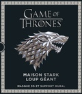 Steve Wintercroft - Games Of Thrones, Maison Stark Loup géant.
