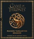 Steve Wintercroft - Games Of Thrones, Maison Targaryen Dragon - Masque 3D et support mural.