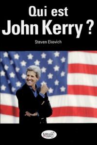 Steven Ekovich - Qui est John Kerry ?.