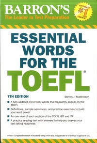 Steven-J Matthiesen - Essential Words for the TOEFL.