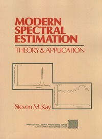 Steven M. Kay - Modern Spectral Estimation - Theory and Application.