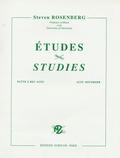 Steven Rosenberg - Etudes pour flûtes à bec alto.